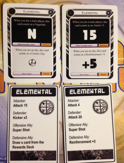Elemental Card Examples