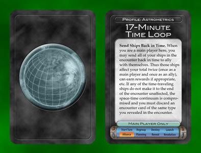 Planetary Profile card - art by Bill Martinson